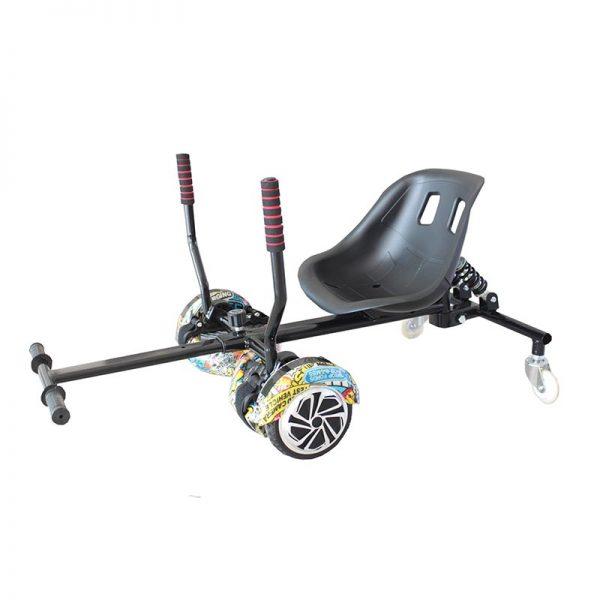 Kart Seat Racing Black Img01