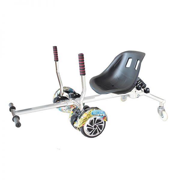 Kart Seat Racing White Img01
