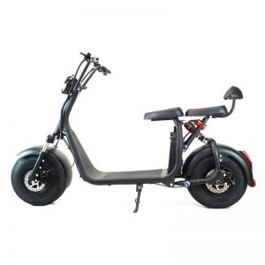 Scooter Citycoco Two Seat Black Img01