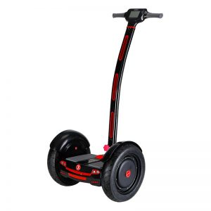 Scooter Stickway Segway Black Red Img01