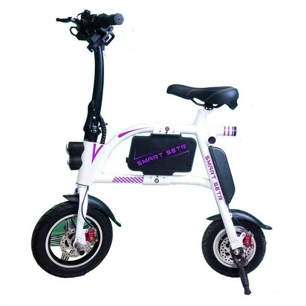 Sumun E bike White Img01